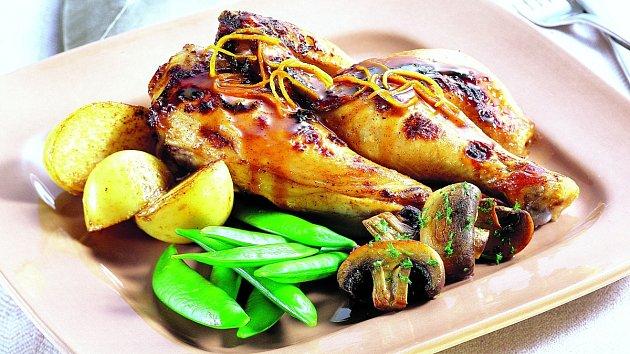 Kuře nacitrusech