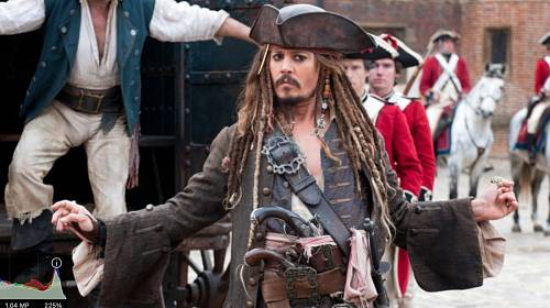 Johnny Depp ve filmu Piráti z Karibiku