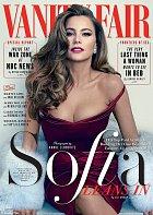 Takhle Sofia Vergara svádí z titulní strany magazínu Vanity Fair.