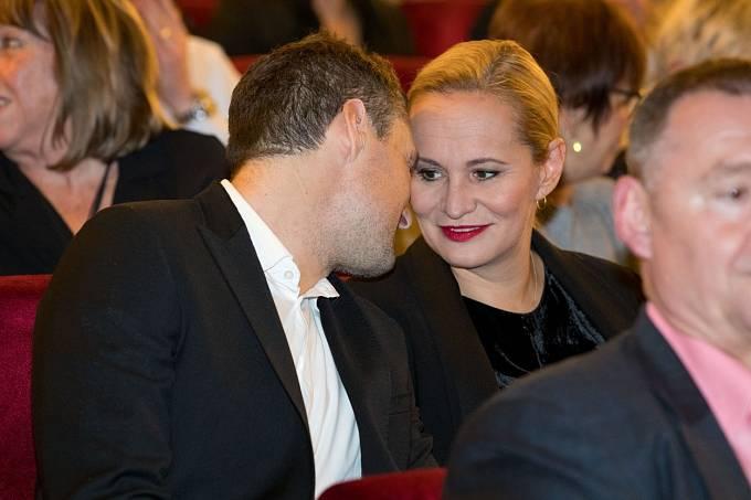 Monika Absolonová a Tomáš Horna působili jako ideální pár.