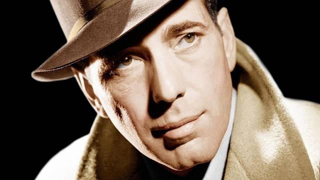 Humphrey Bogart šišlal a měl zjizvený obličej. Nikomu to ale nevadilo.