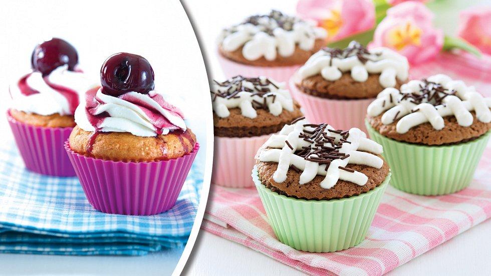 Cupcakes se těší stále větší oblibě také u nás.