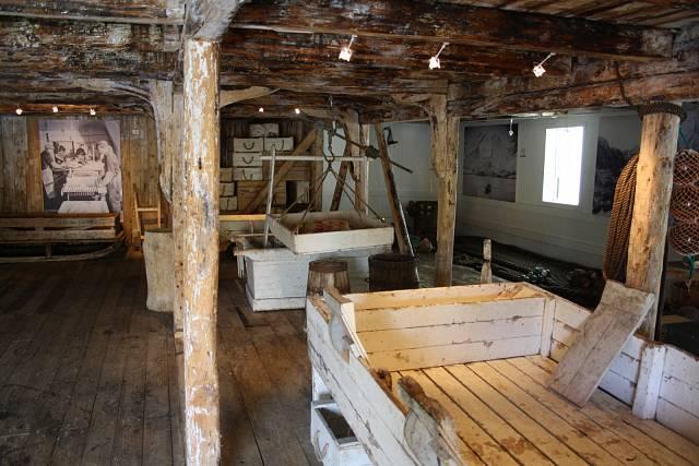 Původní vybavení rybářského domku