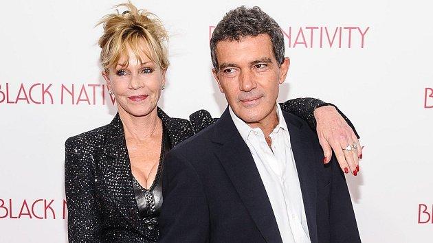 Herec Antonio Banderas se rozhodl pro pauzu ve vztahu s Melanií Griffith.
