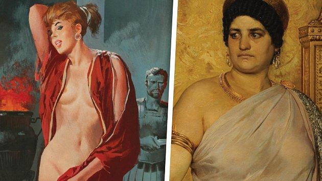 Messalinu si různí umělci představovali v odlišných váhových kategoriích.