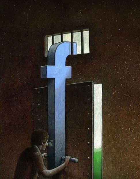 Takhle funguje Facebook.