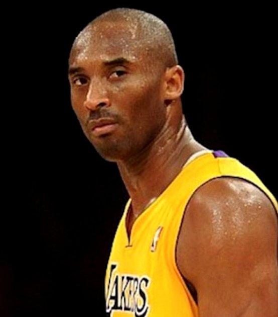 Basketbalista Kobe Bryant.