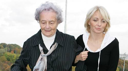 Veronika Žilková s maminkou