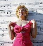 Marilyn Monroe v šatech z filmu Niagara.