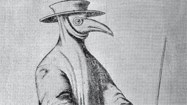 Kostým středověkého lékaře