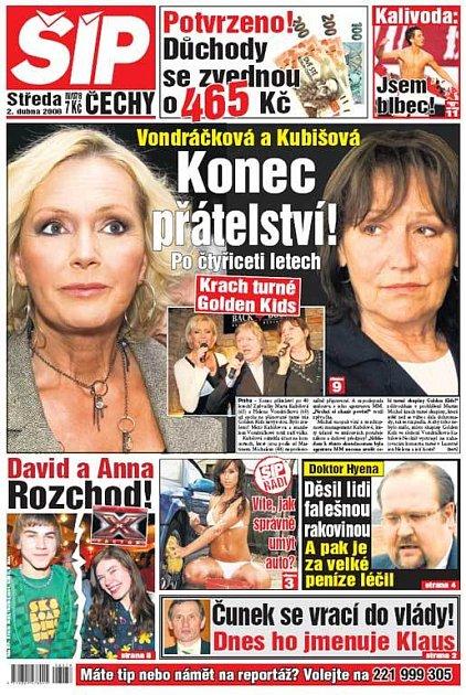 Titulka 2. 4. 2008