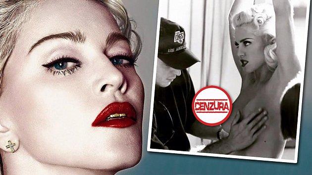 """Popová královna narazila: prsa se na sociálních sítích """"nenosí""""."""