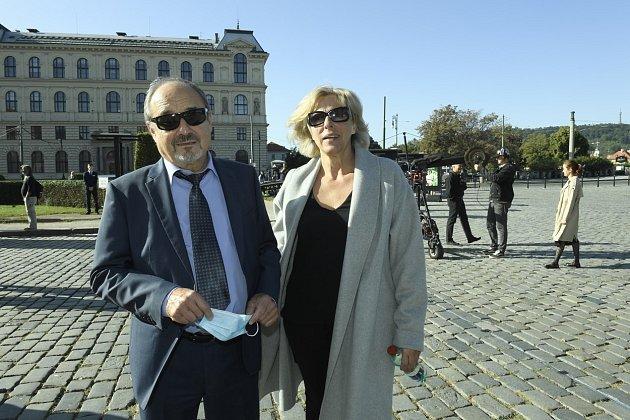 Viktor Preiss, poslední rozloučení sJiřím Menzelem