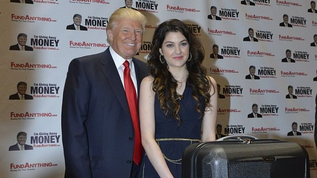Celeste zaujala známého proutníka Donalda Trumpa. Otázkou je, zda ho uhranul její zpěv, anebo mládí a sexy tvary…