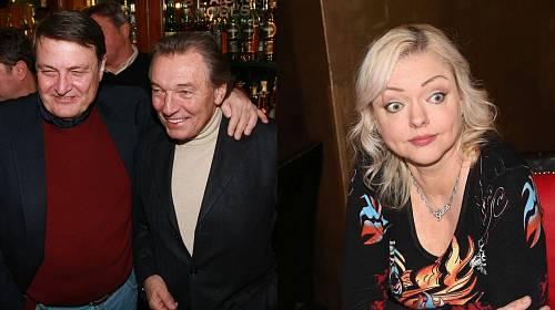 Karel Gott, Ladislav Štaidl a Dominika Gottová