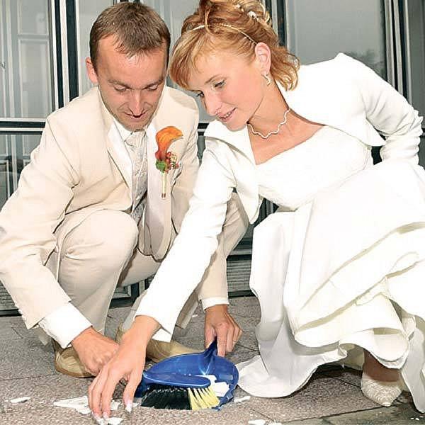 Novomaželé nezapomněli na tradice.