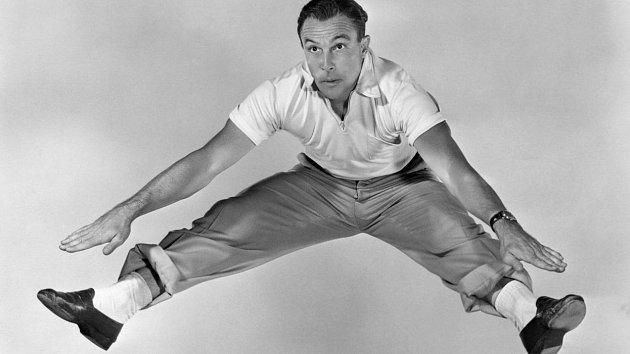 Gene Kelly se protančil až na vrchol.