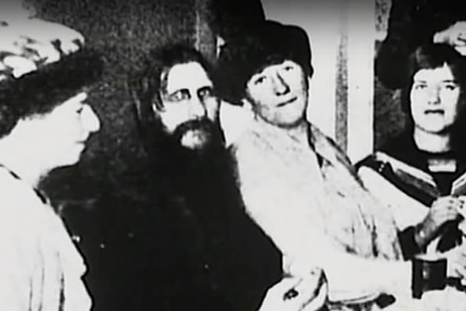 Rasputin u dvora.