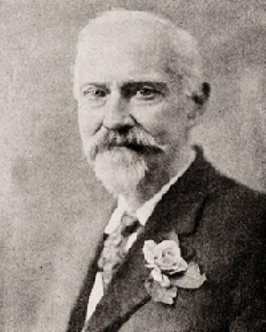 James Churchward, který napsal knihu Ztracený kontinent Mu.
