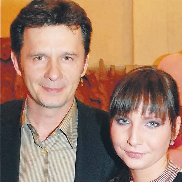 Veronika Nová se svým seriálovým partnerem Honzou Šťastným.