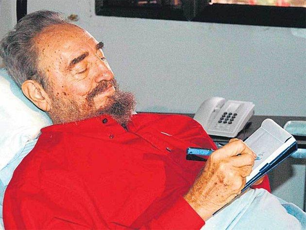 Fidel Castro promluvil o své nemoci.