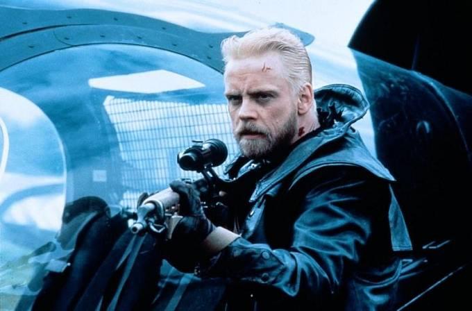 Ve sci-fi Vítr zkázy (1989) ho mnozí ani nepoznali.