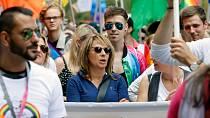 Prague Pride podporovalo i bývalé vedení magistrátu v čele s primátorkou Adrianou Krnáčovou.