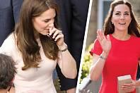 Bujné vnady vévodkyně vzbuzují dohady.