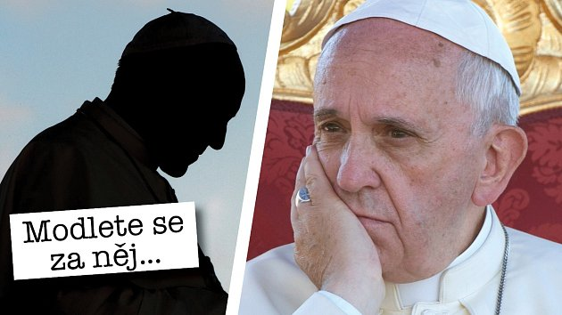 Papež od nástupu do úřadu zhubl deset kilo.