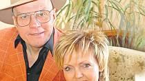 Jan Přeučil s manželkou Evou Hruškovou se už těší na řecký Tassos.