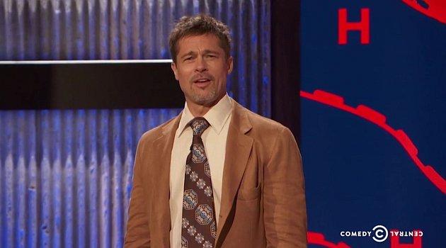 Brad Pitt si zatím střízlivost užívá a napravuje své chyby zminulosti.