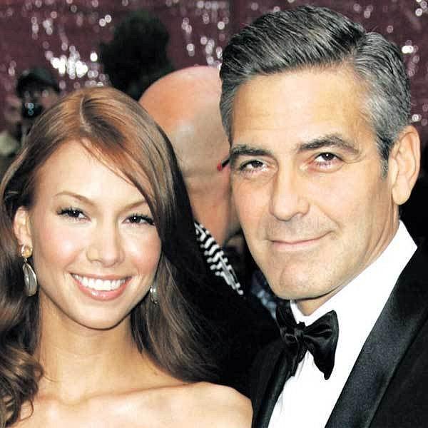 George Clooney se svou zlobivou přítelkyní Sarah