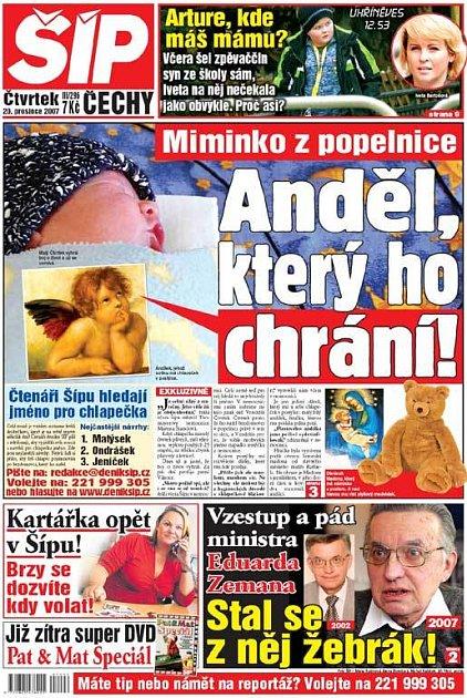 Titulka 20. 12. 2007