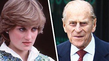 Princ Philip psal o Dianě v dopise jen týden po její smrti.