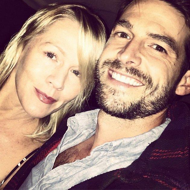 Jennie Garth a Dave Abrams