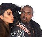 Kim a Kanye v dobách největší zamilovanosti.