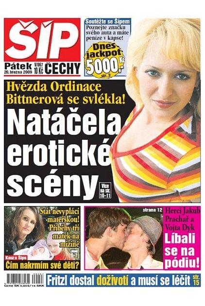 Titulka 20. 3. 2009