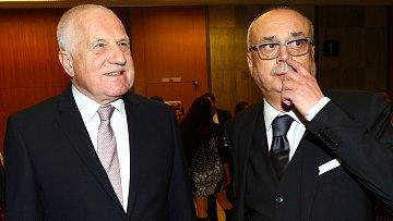 Václav Klaus a Peter Kovarčík