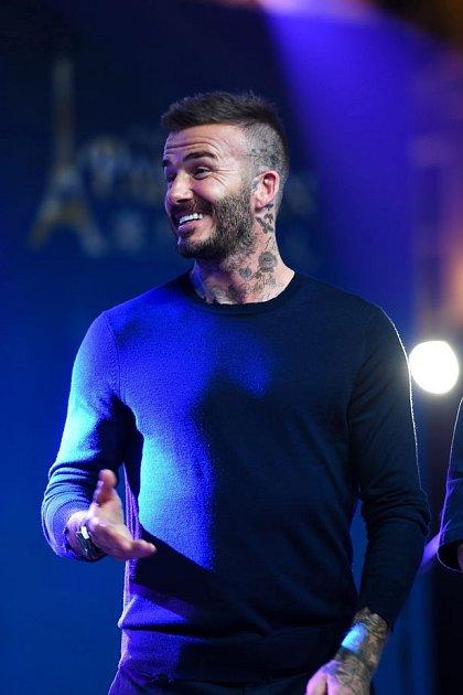 David Beckham tetování