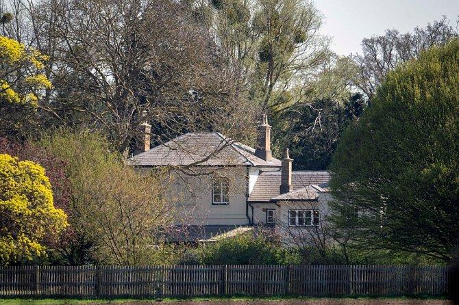 Frogmore Cottage nové bydléní Prince Harryho a jeho rodiny.
