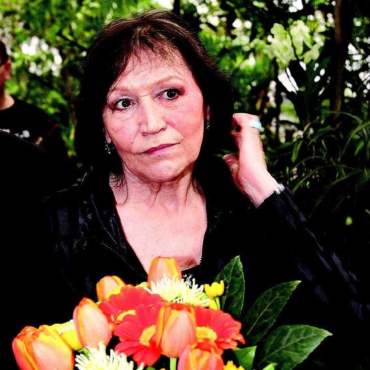 Marta Kubišová se v poslední době cítí vyčerpaná.