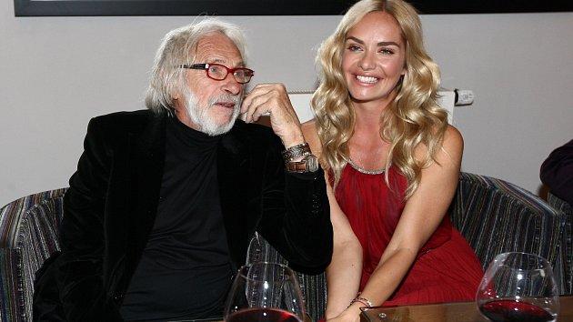 Pierre Richard a Táňa Kuchařová