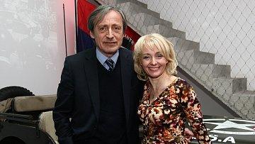 Martin Stropnický a Veronika Žilková