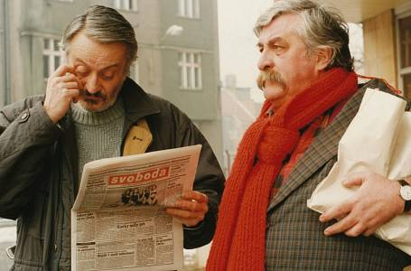 Milan Lasica a Július Satinský