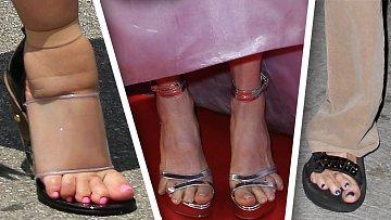 Nohy slavných osobností. Nic moc, co říkáte?