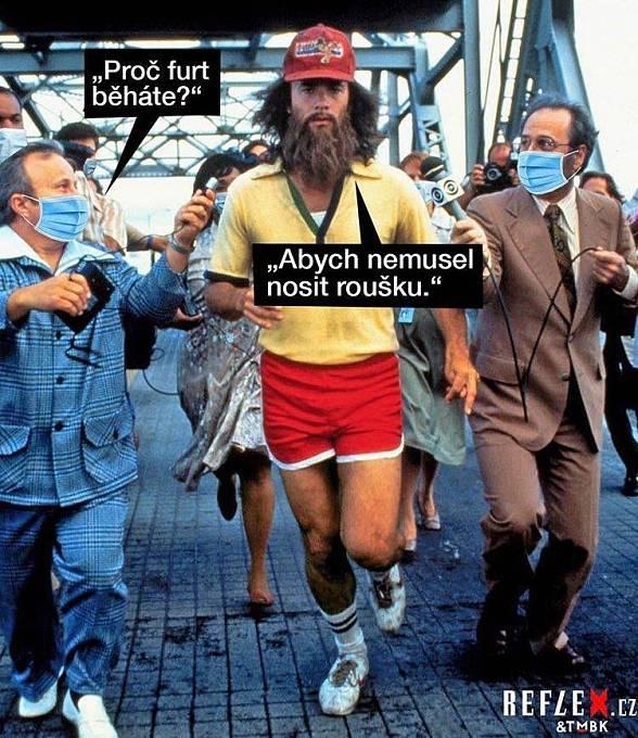 Běhat můžete bez roušky!
