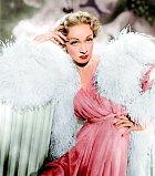 Ity největší hvězdy se praly oto, aby mohly hrát vjeho filmech. Vesnímku Hrůza najevišti (1950) se objevila Marlene Dietrichová.