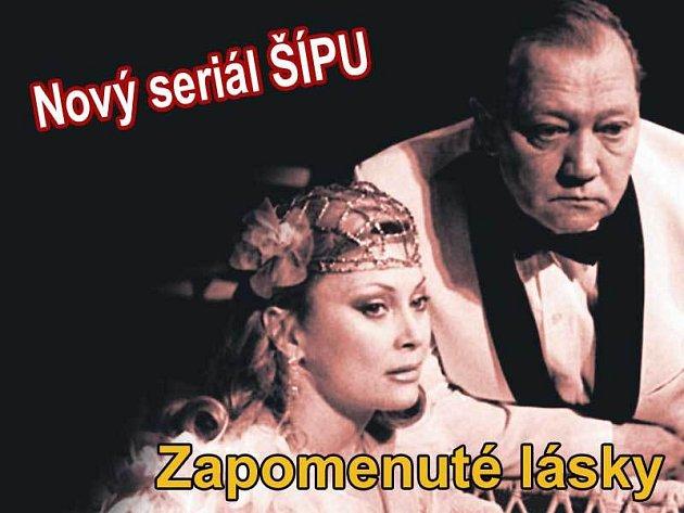 Rudolf Hrušínský a Sylvia Turbová