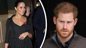 Vévodkyně ze Sussexu i princ Harry řešili otázky druhého dítěte.