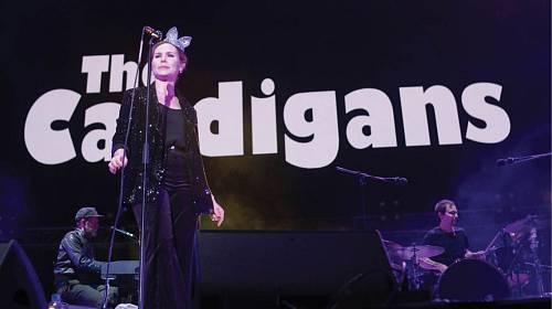 Nina Persson, zpěvačka skupiny The Cardigans.